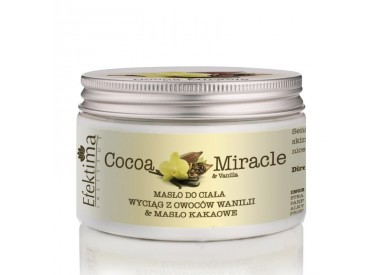 COCOA MIRACLE & vanilla - Body butter