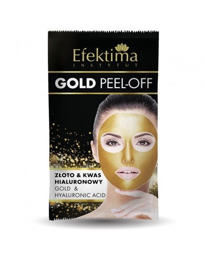 GOLD PEEL-OFF GOLD MASK GOLD & HYALURONIC ACID