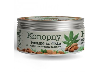 Hemp oil BODY PEELING & sweet almond husks