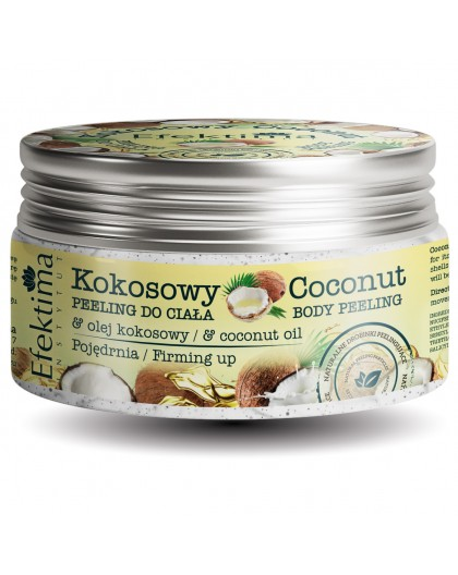 COCONUT PEELING WITH COCONUT OIL FIRMING UP EFFECT