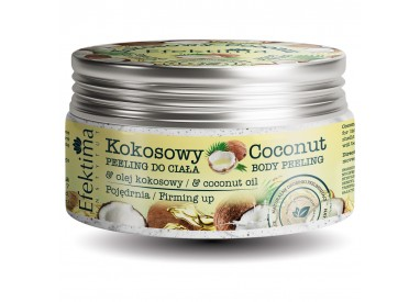 COCONUT PEELING WITH COCONUT OIL - FIRMING UP EFFECT
