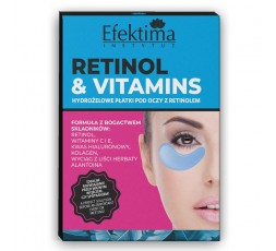 RETINOL & VITAMINS HYDROGEL EYE PADS WITH RETINOL - 3 PIECES