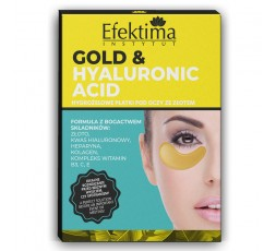 GOLD & HYALURONIC ACID HYDROGEL EYE PADS WITH HYALURONIC ACID - 3 PIECES