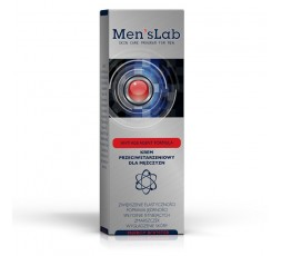 MEN'S LAB - Energy Booster - Anti-Aging Skin Cream For Men.