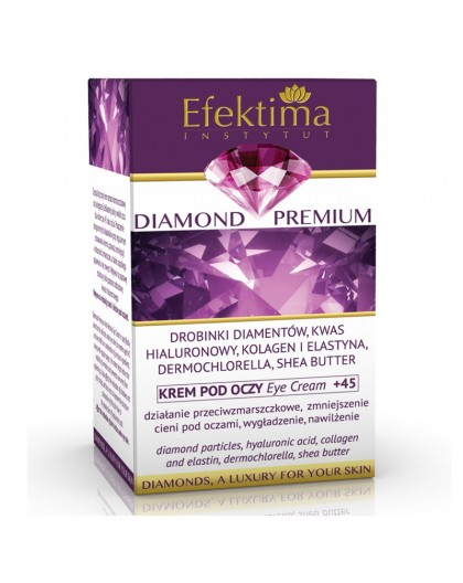 DIAMOND PREMIUM - Eye cream +45.