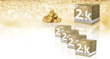 Efektima Luxury care with 24 K gold!