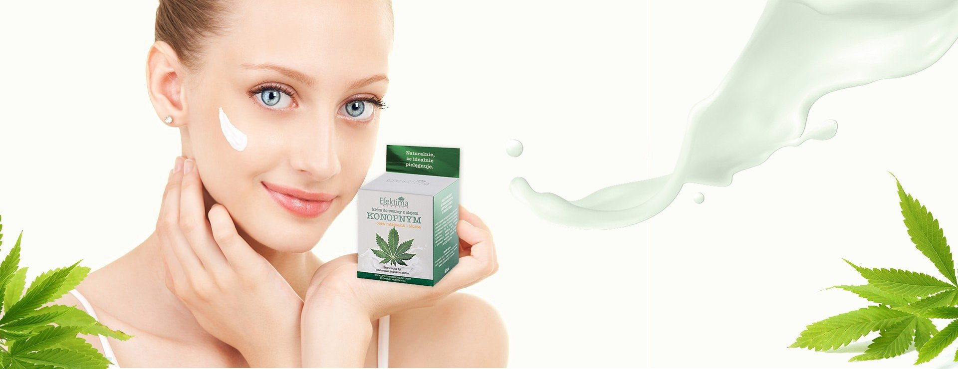 Cream with hemp oil